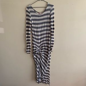 Free People Beach Striped Coverup - Rescue Me!
